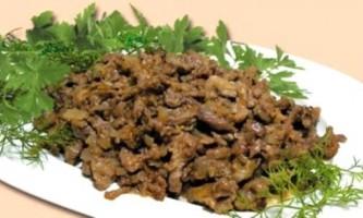 Бефстроганов - смачне російське блюдо