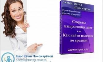 Безкоштовна книга «секрети гучних дієт або як знайти корисне у шкідливому»