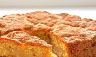 Бісквітний пиріг з яблуками, або класика не старіє!