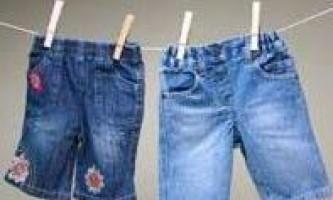 Як правильно прати джинси