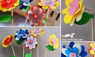 Квіти на трубочці