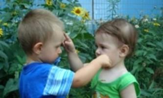 Дитяча дружба. знайомство