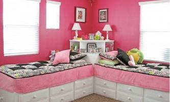 Дитячі кімнати для двох дівчаток: 78 фото дизайну