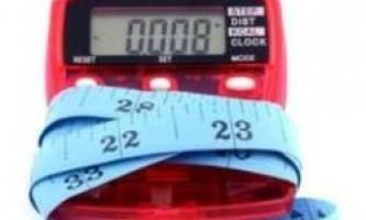 Дієта по калоріях