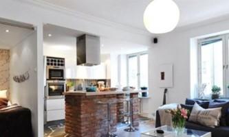 Дизайн маленької квартири студії: прості варіанти