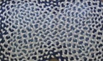 Джинсовий килимок - просто і красиво