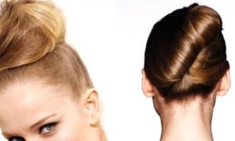 Французький пучок - універсальна зачіска