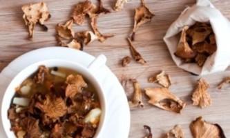 Як швидко засушити гриби