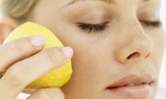 Як відбілити шкіру лимоном в домашніх умовах