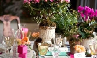 Як правильно оформити весільний стіл