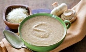 Як приготувати суп з грибів в мультиварці?