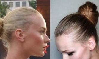 Як зробити гарний пучок із волосся? Оригінальна зачіска за п`ять хвилин