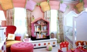 Як зробити оформлення вікон в дитячій кімнаті своїми руками