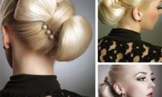 Як зробити зачіску бант з волосся