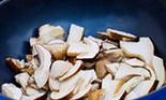 Як смачно посмажити гриби
