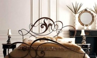 Ковані ліжка - витончена романтика в інтер`єрі спальні