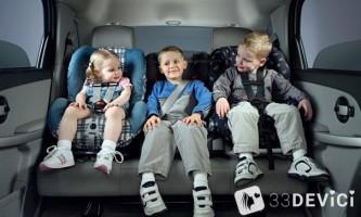 Краш тест дитячих автокрісел
