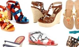 Літнє взуття - простота і легкість в кожній парі
