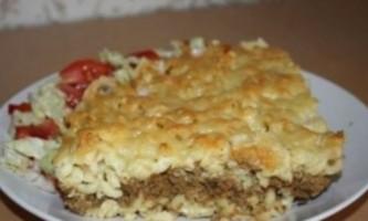 Макаронник - рецепт ситної запіканки