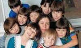 Багатодітна сім`я - філософія та ідеологія