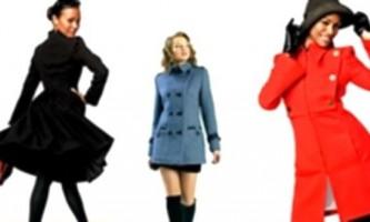 Модні пальто 2010-2011