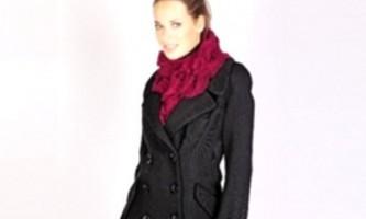 Модні пальто 2011 року