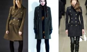 Модні пальто 2013