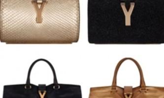 Модні сумки осені 2012 від yves saint laurent