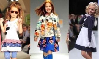 Модні тенденції в одязі для дітей
