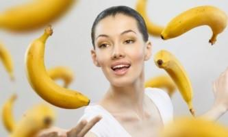 Очищаюча маска з банана для обличчя