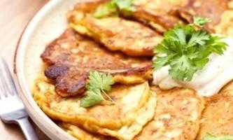 Оладки з кабачків для вегетаріанців і гурманів