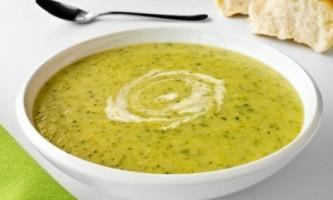 Овочевий суп пюре з баклажанами і помідорами - рецепт приготування
