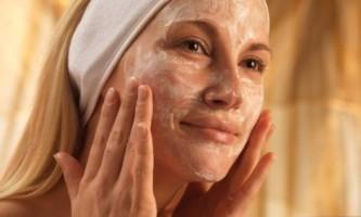 Вівсяна маска для обличчя