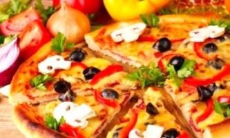 Піца з грибами - це смачно