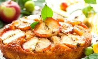 Пиріг з яблуками на кефірі - простий рецепт смачної випічки