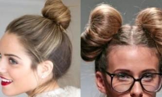 Зачіска пучок: і в світ, і в бенкет, і в добрі люди