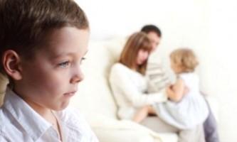 Причини дитячих ревнощів