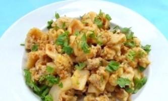 Приготування макаронів по морському рецептом в мультиварці