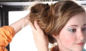 Пучок з волосся: просто, швидко, красиво