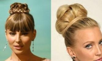 Пучок - модна і зручна зачіска для будь-якого випадку