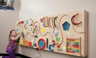 Розвиваючі дошки бізіборд: ідеї для виготовлення своїми руками. Частина 1