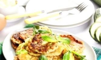 Рецепт приготування кабачковий оладок на кефірі