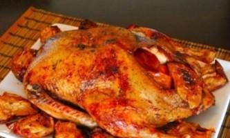 Рецепт запеченої качки, фаршированої яблуками