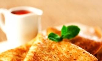 Рецепти млинців на кефірі з начинками