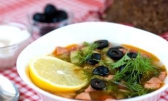 Рецепти приготування домашньої солянки