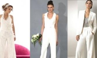 Весільний костюм для нареченої: прекрасна альтернатива сукні