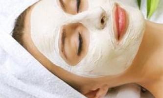 Тонізуючі маски для в`янучої шкіри обличчя