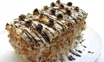 Торт-безе з фундуком