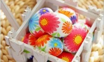 Прикраса пасхальних яєць