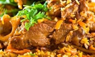 Узбецький плов зі свинини: секрети приготування